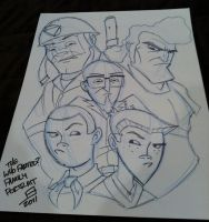 Con Sketch - The Venture Fam by juniorbethyname