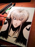Jareth the Goblin king by Mistiqarts