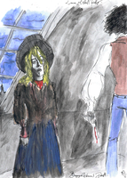 Beggar  Woman's  Murder by DemonCartoonist
