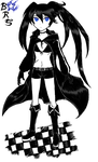 Black Rock Shooter BRS by emichaca