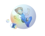 Mega Man - Bomber in a Bubble by LoaS-ScourgeTH