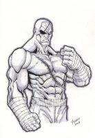 StreetFighters Sagat by Kid-Destructo