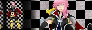 Lightning Returns: Keyblade Master by kitsune23star