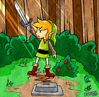 Link Classic Mode 2 - Alttp by iruden