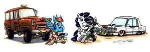 My Little Double Date by Sketchywolf-13