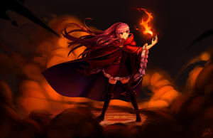 PFFK: burn bby burn by Pokey-Chan