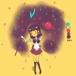 Sailor Saturn by nattopotato