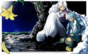 AT: Mizu and Sesshomaru by Noopy10