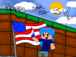 Minecraft 4th of July! by YugiohFanatic789