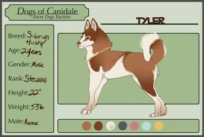 Dogs of Canidale: Tyler Ref [DECEASED] by Tinderlan