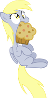 GIANT MUFFIN by LudiculousPegasus