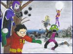TT snowball fight request by RobinFAN17