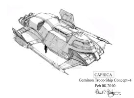 Geminon Troop Ship concept-4 by onthesquare