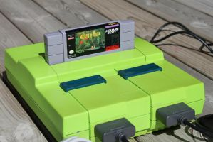 Complete Lime SNES by Migon21