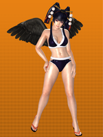 DOA5U Nyo Tengu Bikini Meshmod by Strawberry-Pink05