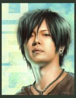 Gackt.Portrait by ChantDeLaCorneille