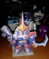 papertoy captain starunicorn by animot
