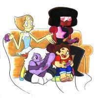 WWP15 - Crystal Gem Melee by Underburbs