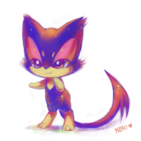 little kitty by kori7hatsumine