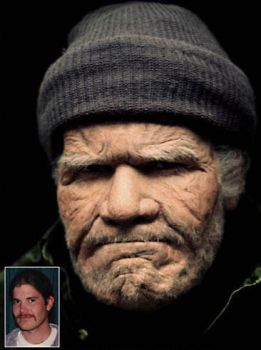 Old Age Makeup by TimBakerFX