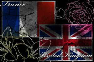 France and the uk by Inky-Soul
