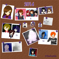 2014 Art Summary by tashaj4de