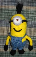 Despicable Me Minion doll by JenniferElluin