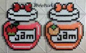 Apple and Orange Jam by PerlerPixie