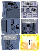 On Peeing At Night by bensigas