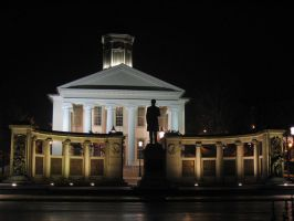 Nightime at the Court House by AiPFilmMaker