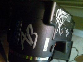 My signed camera by lissawolf756