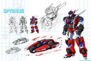OPTIMUS Transformers:FullForce by ZeroMayhem