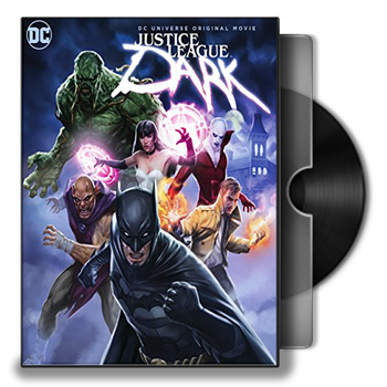 Justice League Dark Animated Movie Folder Icon by iamuday