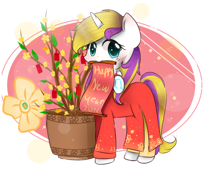 (Comisson) Happy new year  by WindyMils