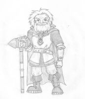 Rathis, Dwarf Cleric by MoCaW