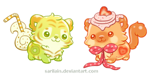 [CLOSED!] Gumnimals #1 and #2 by Sarilain
