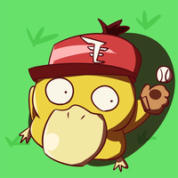 Baseball Psyduck by ime07