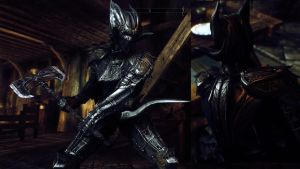 Drakul Armor for Skyrim  In Game 2 by Zerofrust