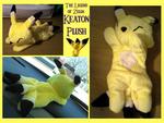 Keaton  Beanie Plush by methuselah-alchemist