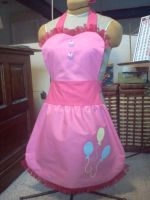 Pinkie Pie Cosplay Apron by PhantomClark