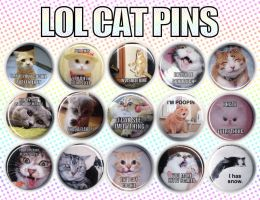 LOLCATS Buttons by MyFebronia