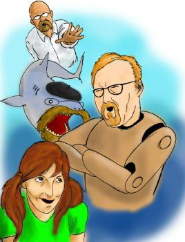 Mythbusters Shark Week by SeeknDestroy