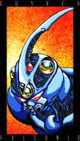 Guyver I by AngeloFalconio