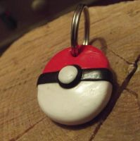 Pokeball keyring by MeticulousBlue