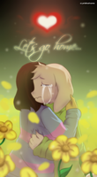 +Fan art+ They're waiting for us by Crystaliiisms