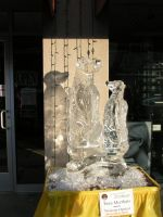 Ice Sculpture 26 by ItsAllStock
