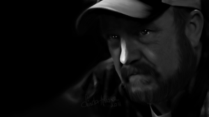 Bobby Singer by LindaMarieAnson
