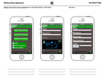 TSN Team Iphone4S Application Design by GraphAndStyle