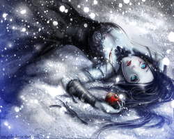 :: White as Snow, Red as Blood, Dark as Night :: by Sangrde