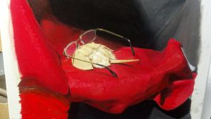 Horseshoe crab still life painting by Diollan